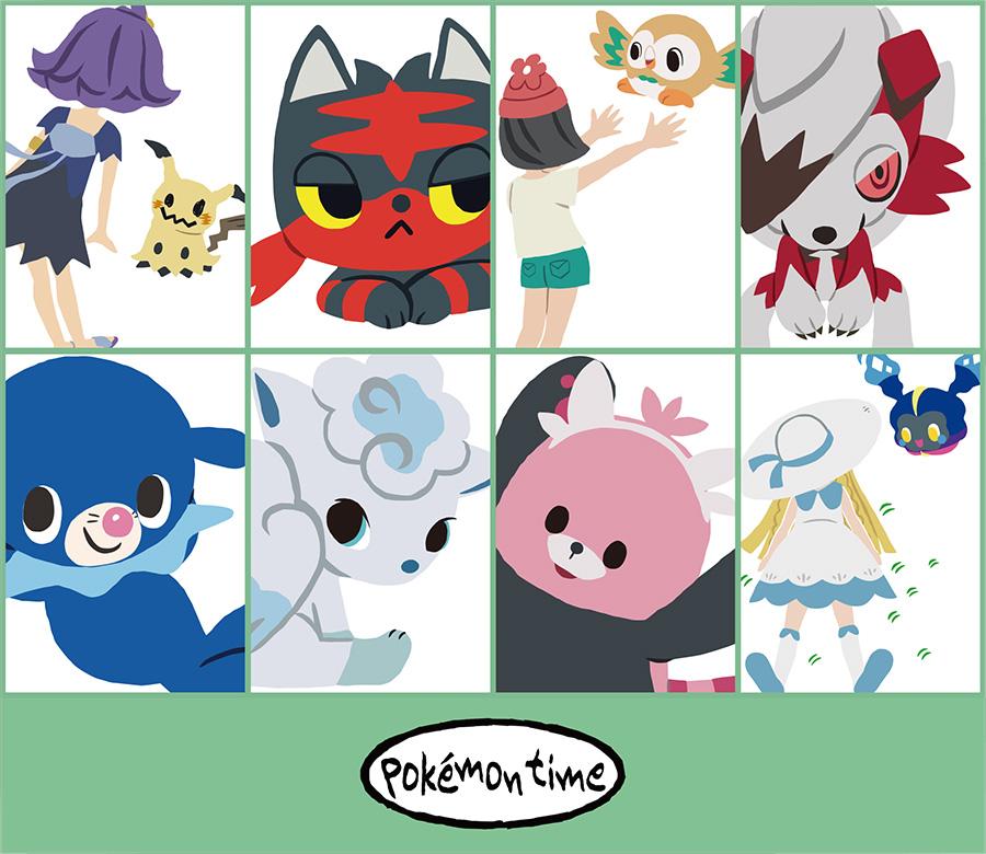 pokémon time 第11弾が ポケモンセンターに登場
