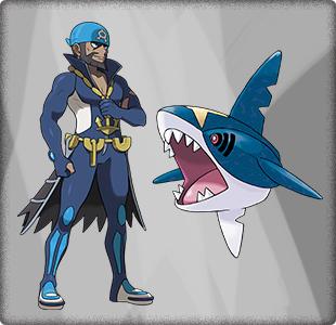 アクア団 アオギリの「サメハダー」