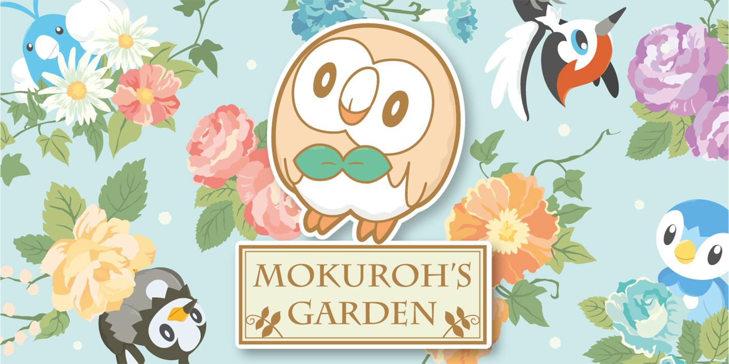 モクローをはじめ、つばさを持つポケモンたちの雑貨「mokuroh's garden