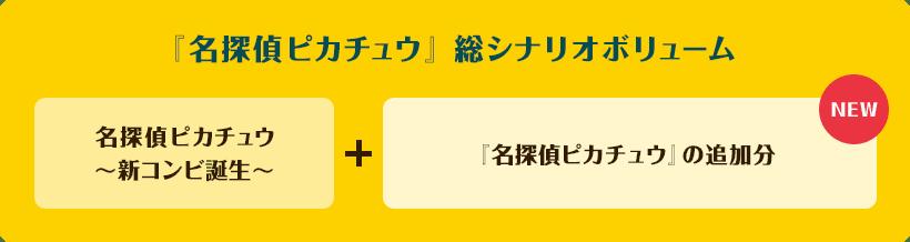 『名探偵ピカチュウ』総シナリオボリューム