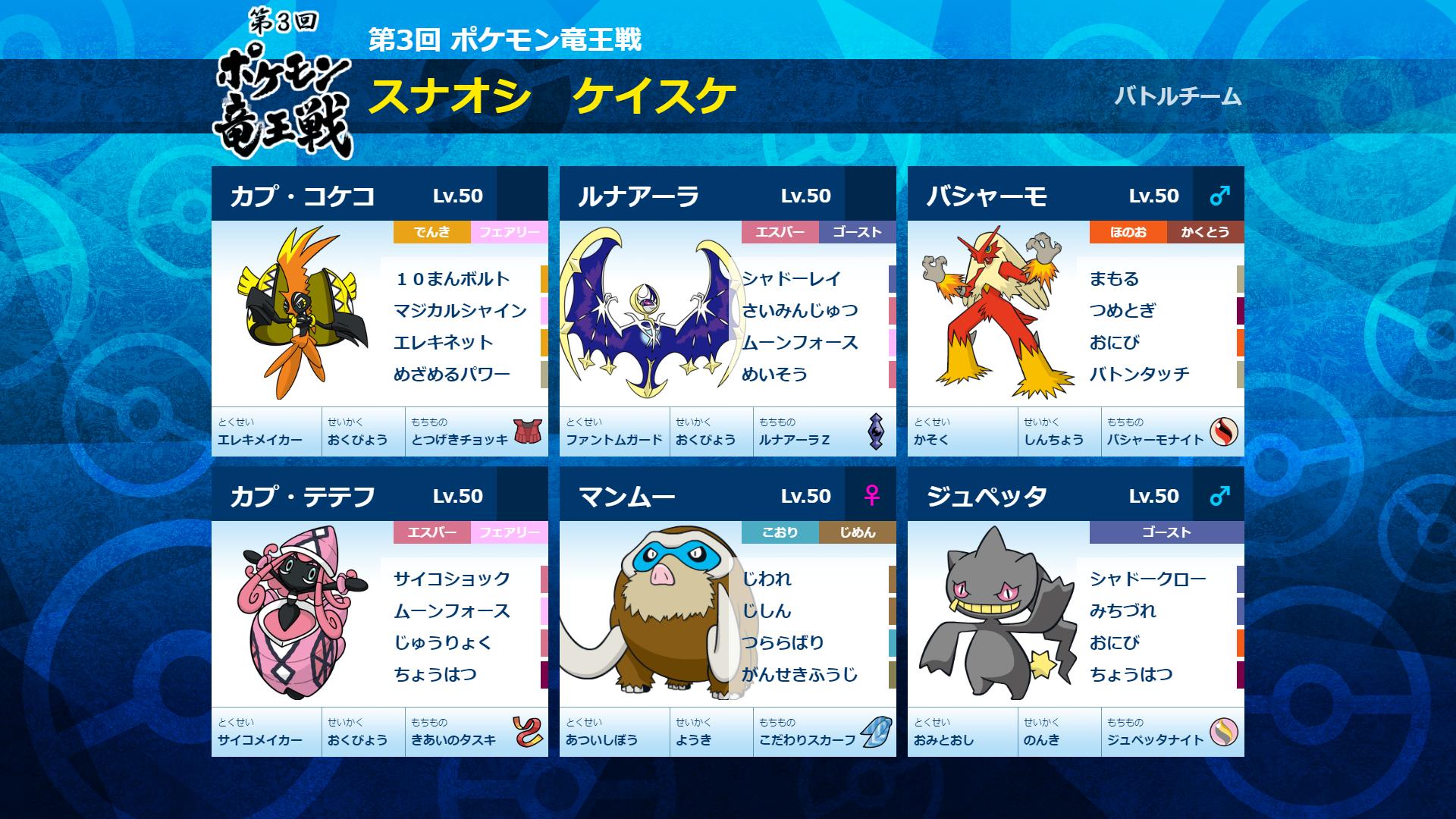 第3回 ポケモン竜王戦」公式サイト