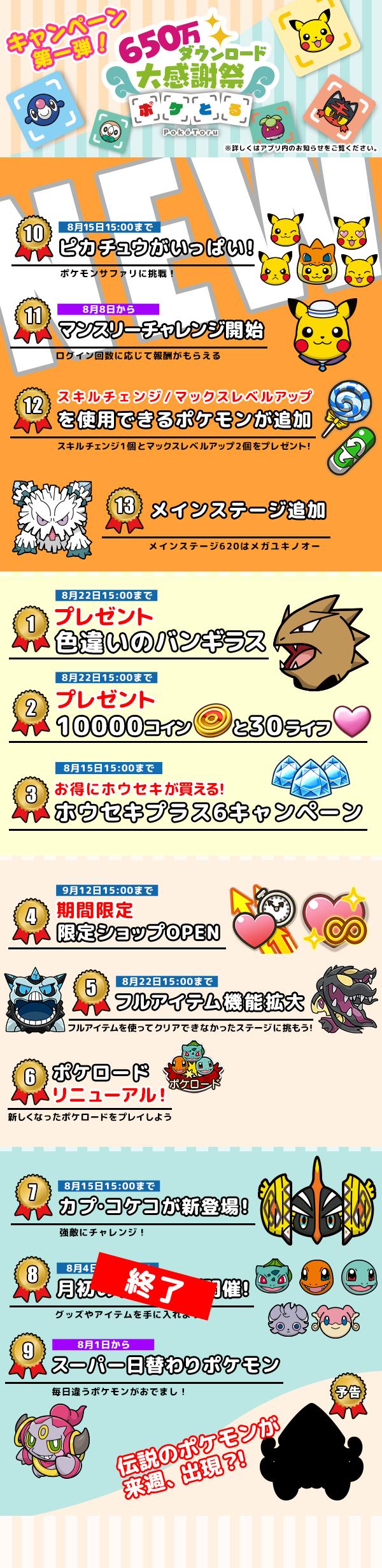感謝 10 チャレンジ 大 祭